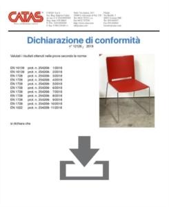Certificat CATAS EN 1728 Multi