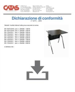 Certificat CATAS EN 1730 Pitagora