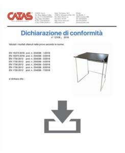 Certificat CATAS EN 1730 Galileo