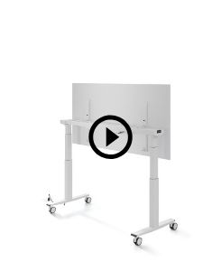 table Telemaco avec plateau inscriptible
