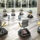 Rover EVO (4) - chaise mobile à roulettes pour education et confèrence