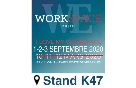 IBEBI à la foire Workspace Expo 2020