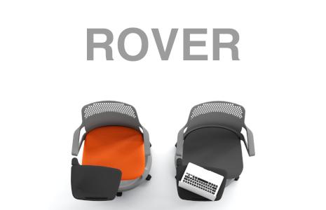 Chaise Rover pour école et réunion