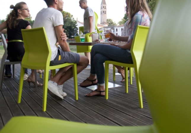 Hoth en un bar en plein air en Oderzo